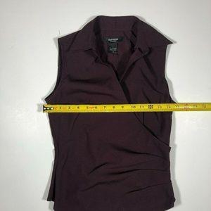 Express Tops - Express Womens Sleeveless Purple Blouse Top Size 2
